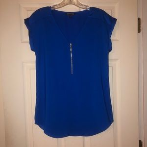 Blue Express top size small